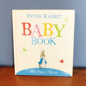 Peter Rabbit Baby Book My First Year New